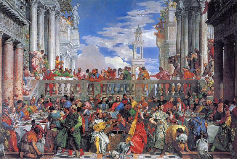 Paolo Veronese The Wedding at Cana opt